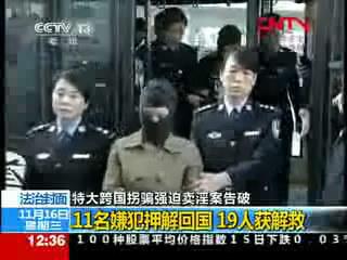 卖淫 卖淫团伙 强迫卖淫 跨国卖淫案 妇女权益