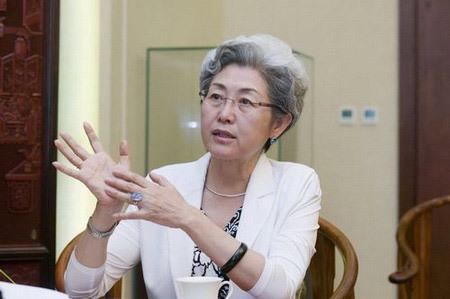 傅莹 个人资料 女副外长傅莹 危机大使 时尚 高级翻译