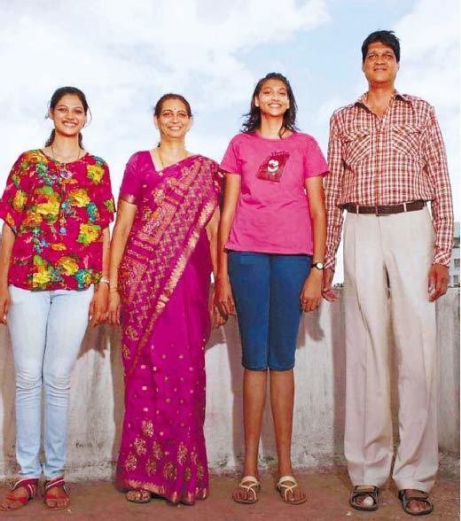 印度身高最高家庭 身高