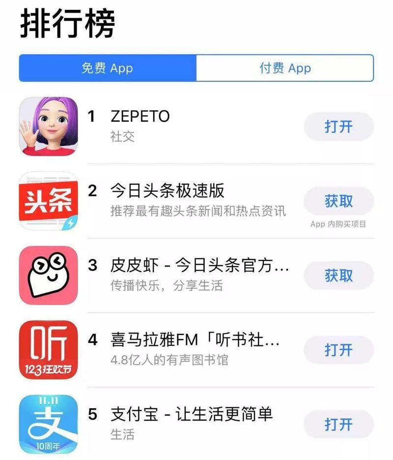 ZEPETO 捏脸 游戏 手机游戏 QQ秀