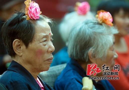 选美大赛 老年人选美大赛 重阳节 最美小姐 佳丽