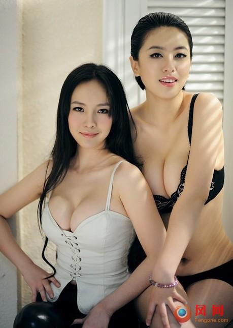子弹 大胸女 赵铭 写真 保护乳房