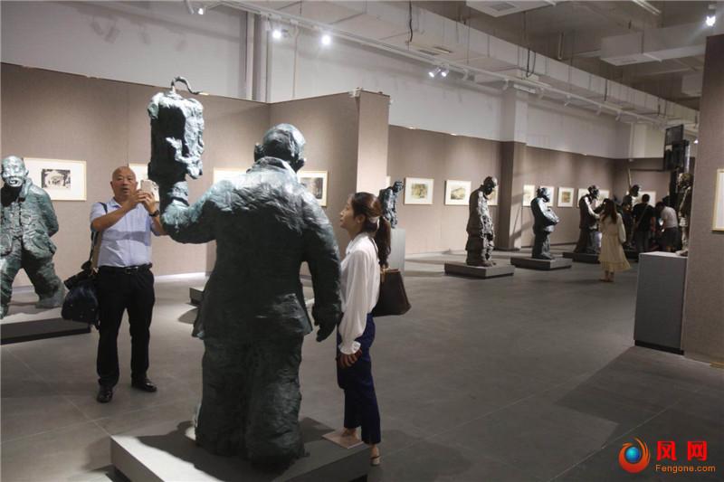 乡愁 雕塑 画展 美术馆