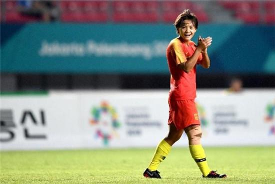 中国女足 王霜荣获亚洲足球小姐